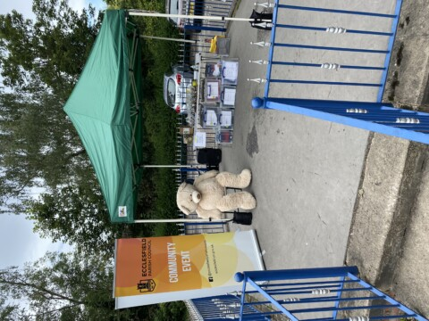 Chapeltown Park Nature picnic day stand