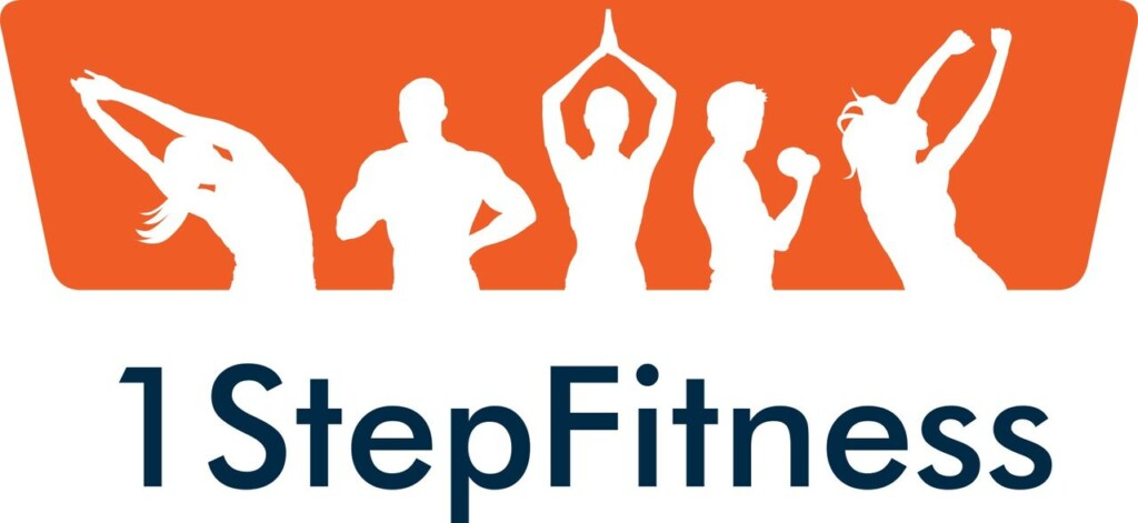 1 step fitness logo